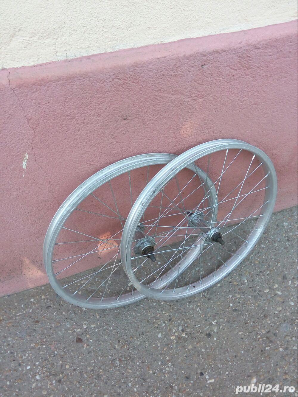 Doua roti 20 inch (fata+spate) Alloy italia pentru bicicleta pliabila