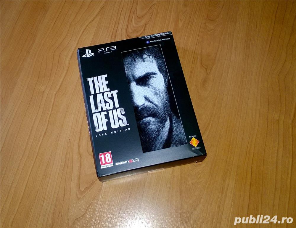 Joc PS3 - The Last of Us : Joel Special Edition , rar , de colectie