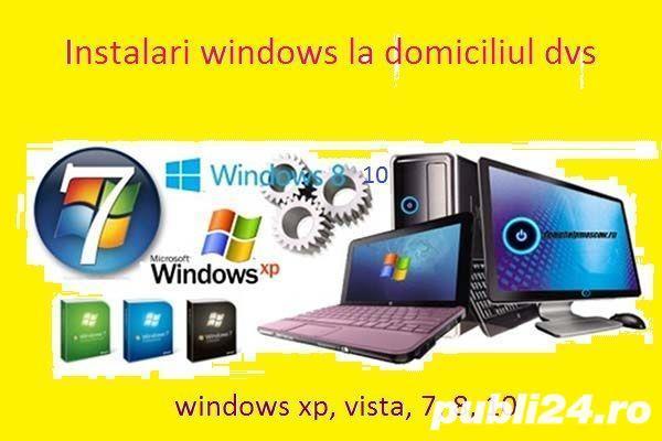 Instalare windows pe calculator/laptop la domiciliu in Alba-Iulia