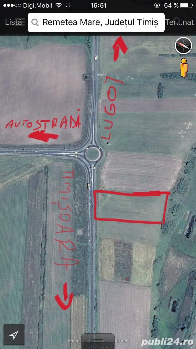 1ha Calea Lugojului in sensul giratoriu intrarea pe autostrada