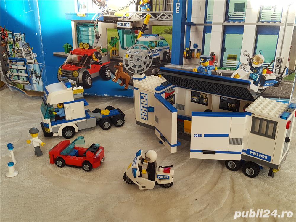 Vand Statie Mobila De Politie Lego City 7288 Timisoara Mama Si