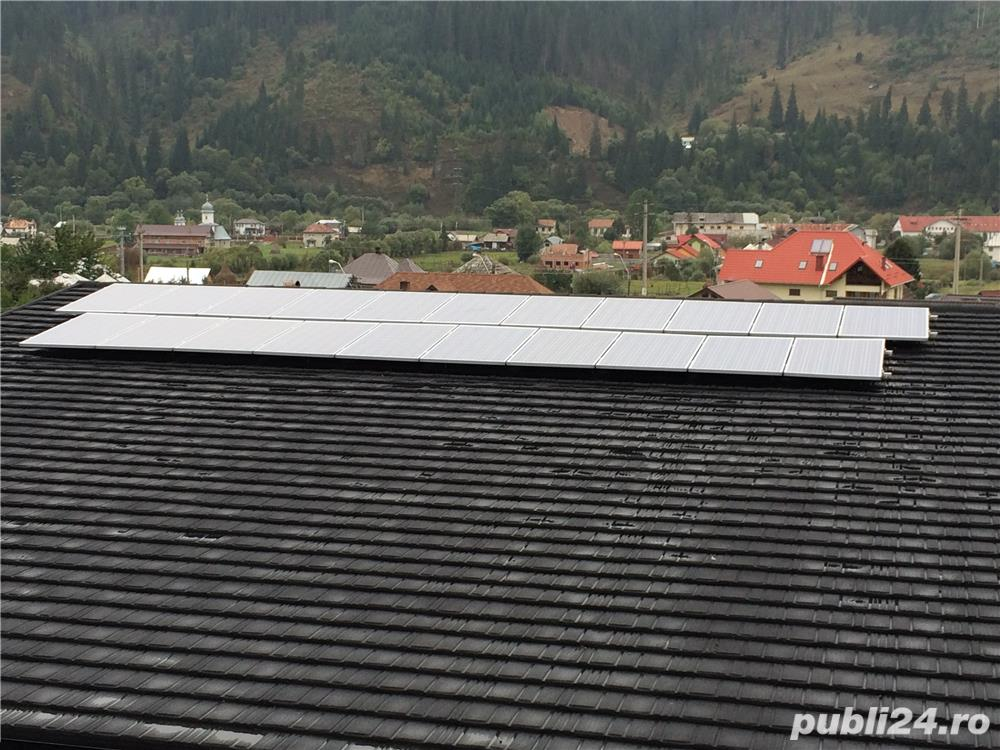 Sistem complet Panouri fotovoltaice Off grid 5 kWp