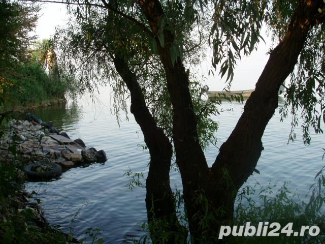 Teren Delta Dunarii 1750mp, iesire Lac Razelm 20m