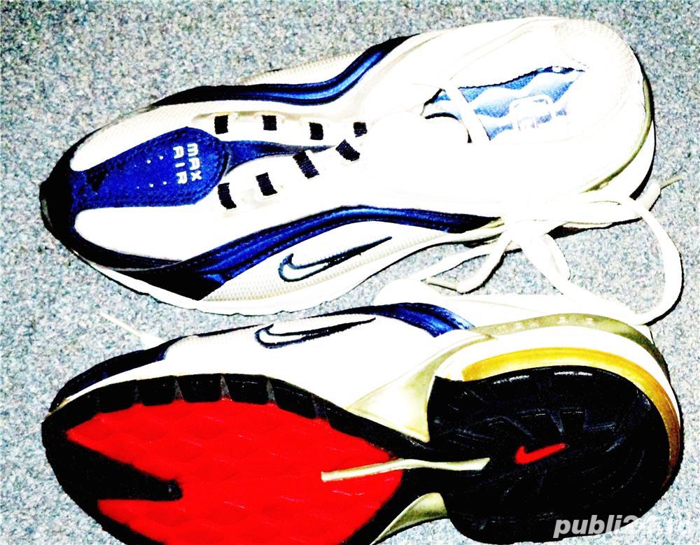 Adidasi Nike panza albi albastru nr 36, 37, 38, 39, 40