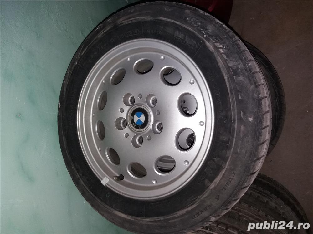 """Jante BMW OE 15"""" Anvelope 205/60/15"""