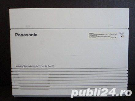 PANASONIC - CENTRALA TELEFONICA KX TA 308 CU TELEFON SECRETARIAT