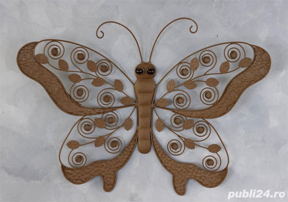 Ornament metalic fluture