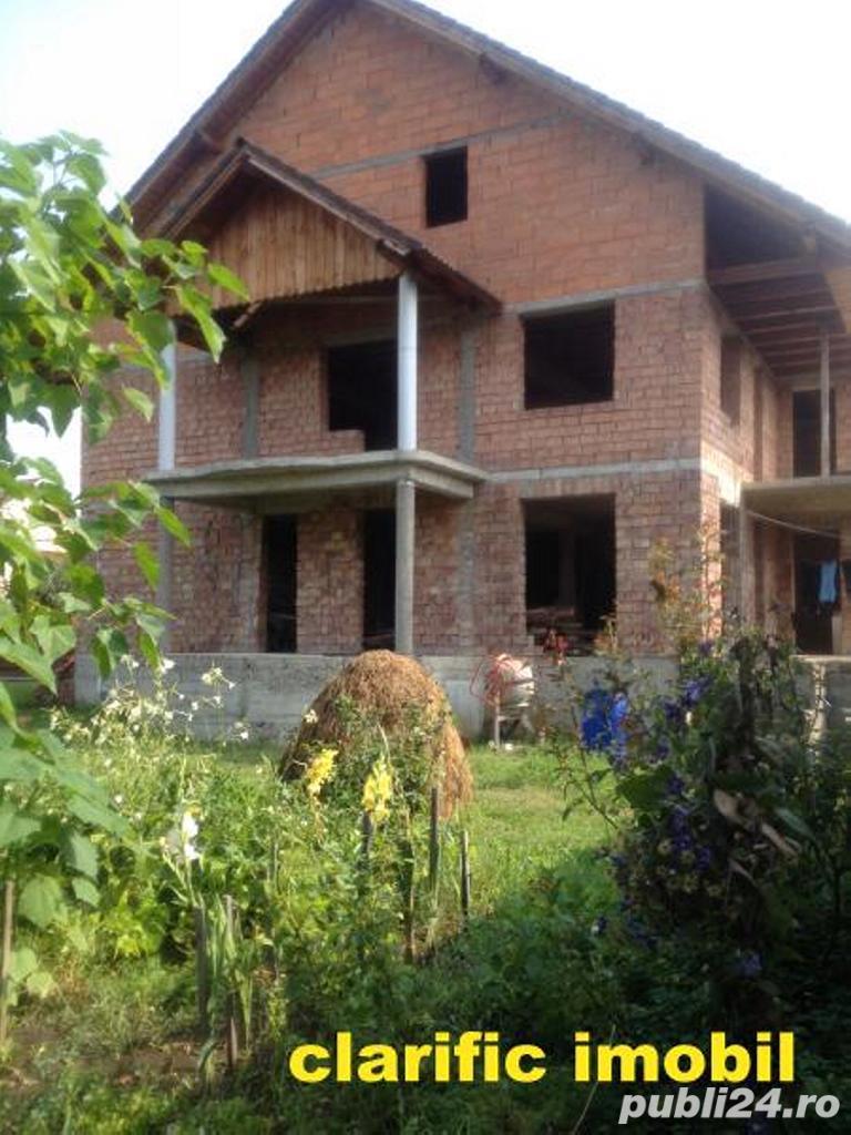 Casa individuala la rosu cu 5 arii teren , toate utilitatile , Dr.Dumitrii Vechi