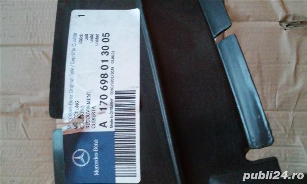 Vand carenaj roata stanga fata Mercedes W170 SLK