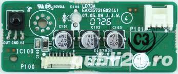 Vand placuta cu IR-ul pentru telecomanda TV LCD LG model LD73A ( EAX35731602 4 )