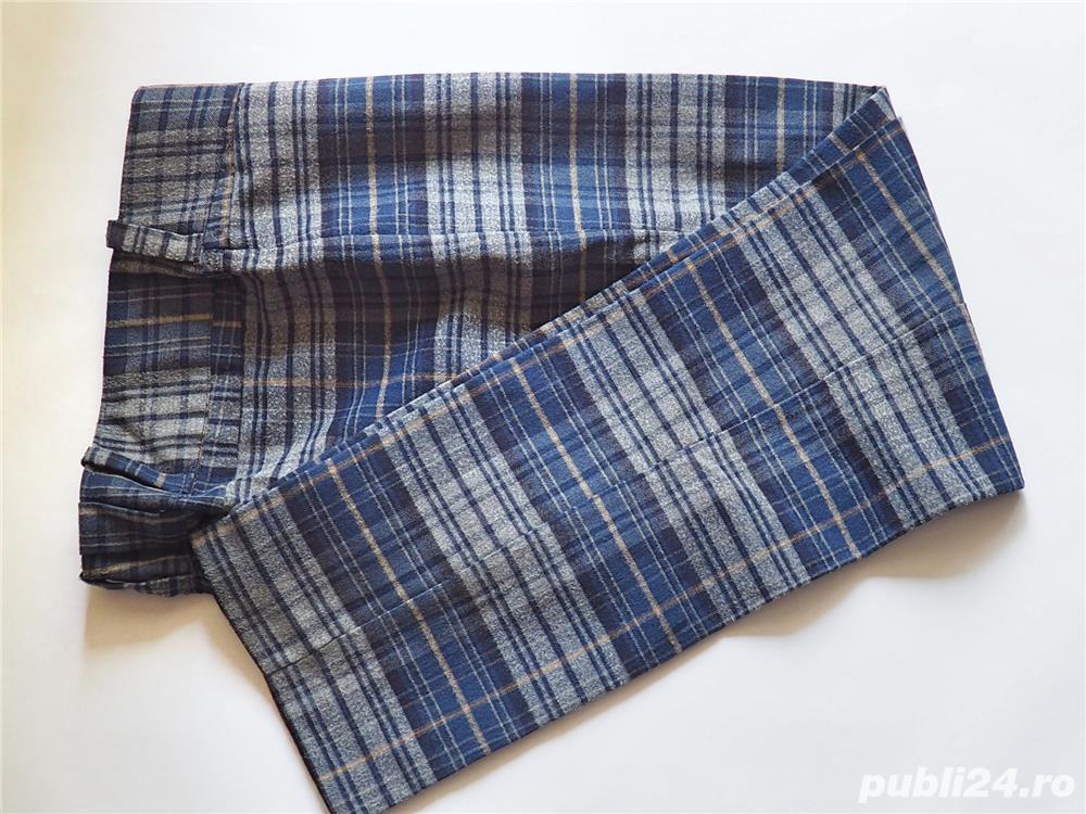 Pantaloni cadrilati mar M