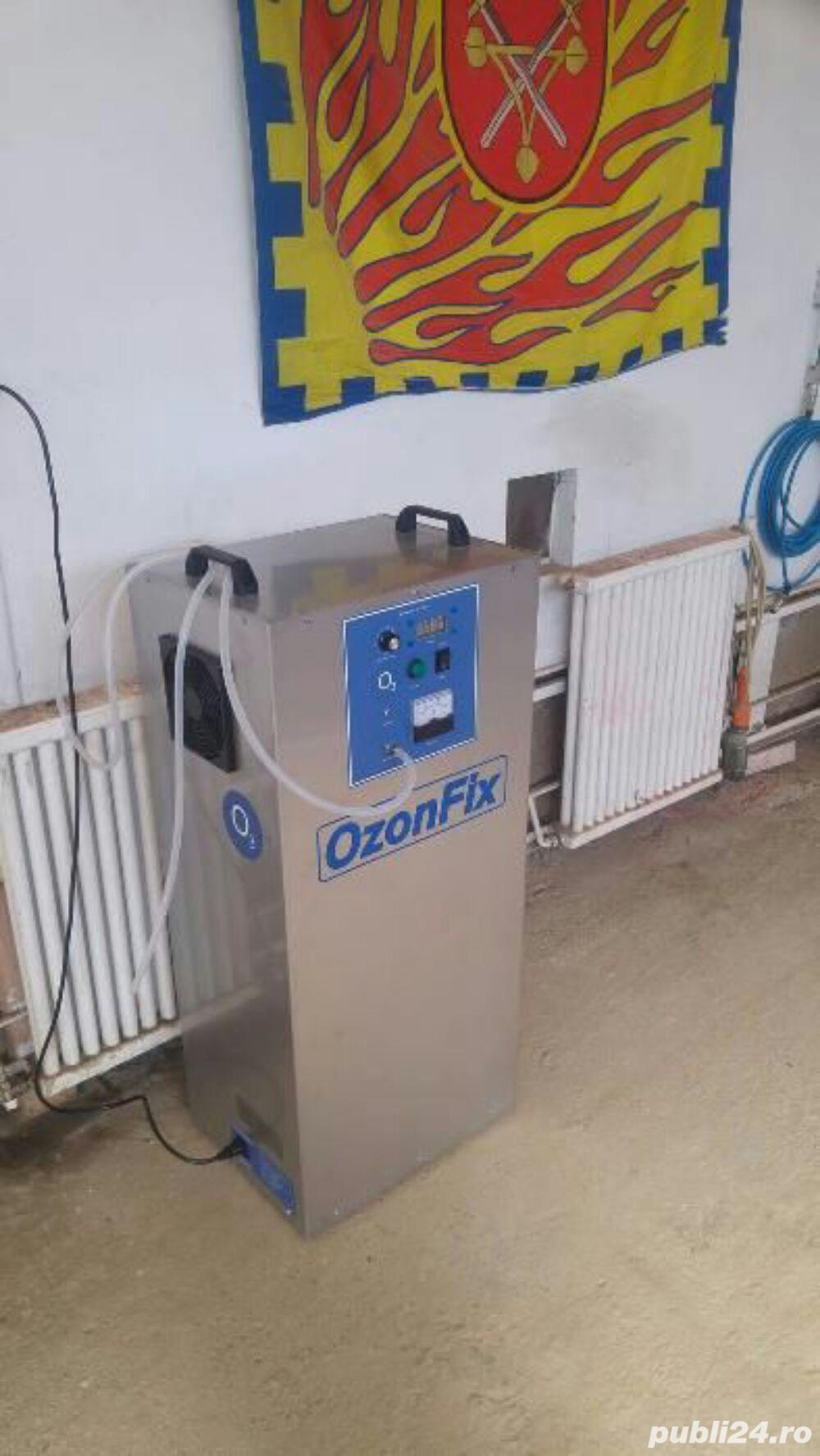 Igienizare Auto cu Generator de Ozon Profesional