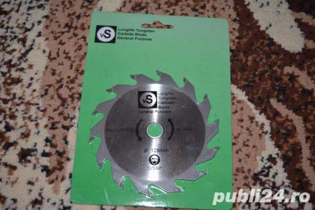 Panza circular VS (carburi metalice superdure) 128mm 12/16mm 14 dinti