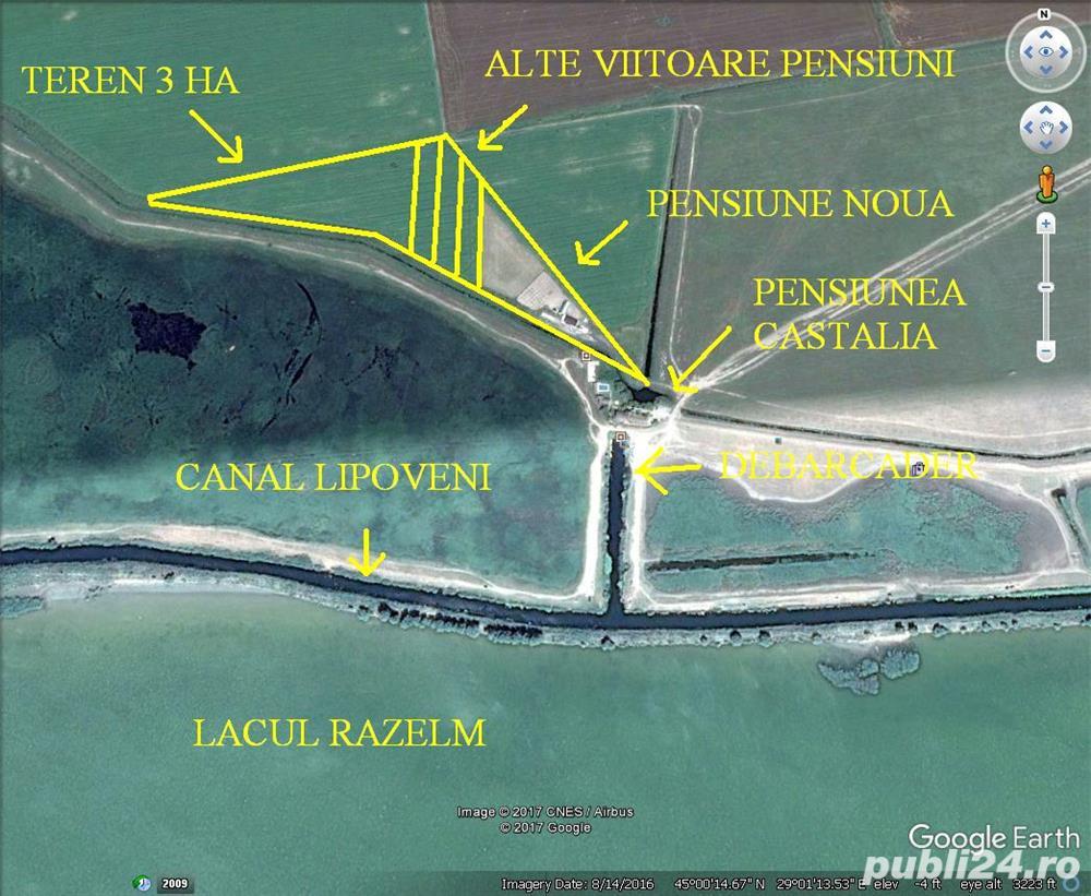 Teren Delta Dunarii pentru Turism
