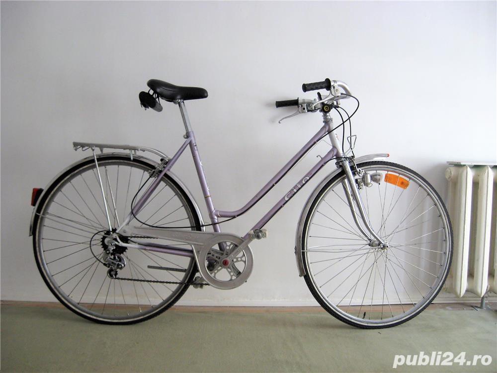 Bicicleta cursiera de dama elvetiana