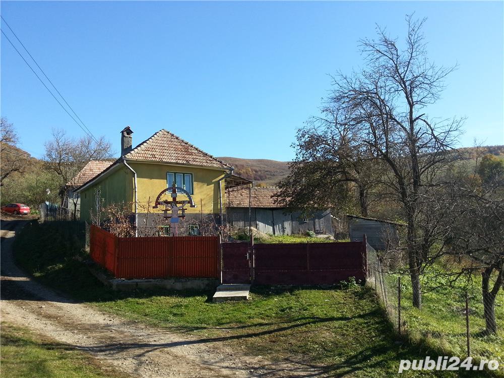 Vand casa in Tentea