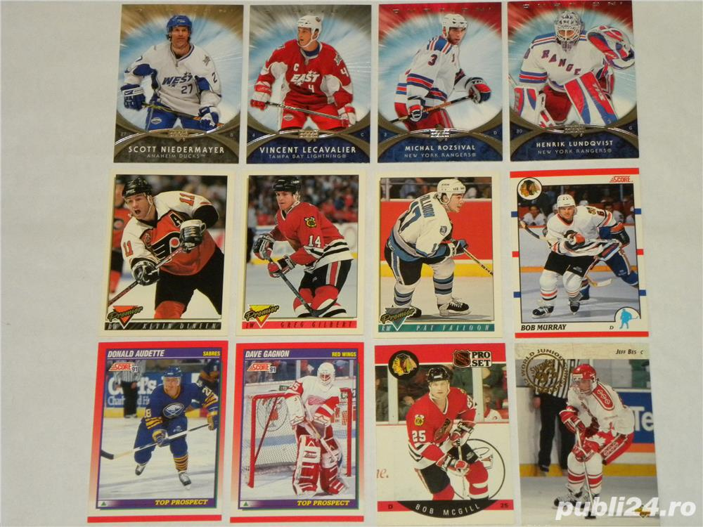 Carduri sport de colectie (Hockey Cards)-NHL (made in SUA)