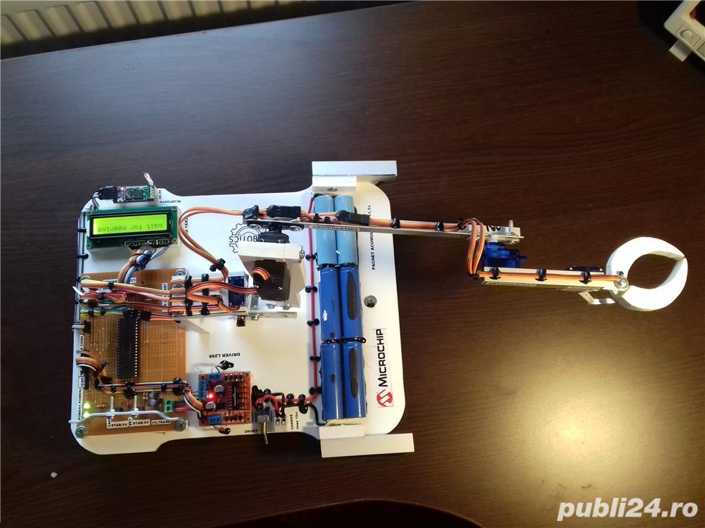 Proiecte automatizari, robotica si siteme inteligente(licenta/disertatie)
