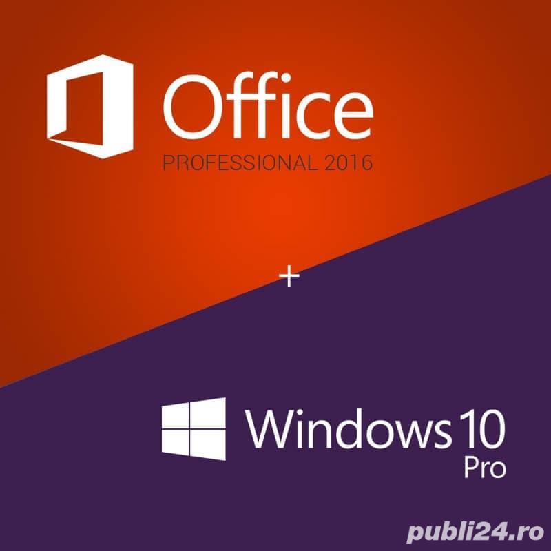 Instalare/reinstalare Windows (10, 8, 7), Office (2019, 2016), licente 100% originale Microsoft