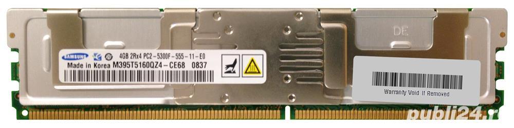 Memorii Server DDR2 FBDIMM 4GB PC2-5300F ECC, REG