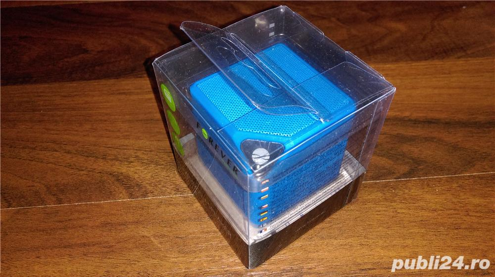 Boxa portabila bluetooth Forever cu radio FM si slot card Micro SD / produs sigilat
