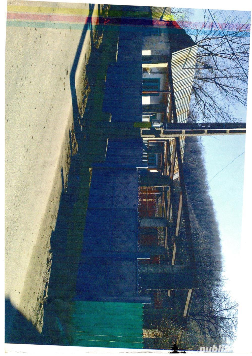 Vand spatiu comercial cu casa in constructie