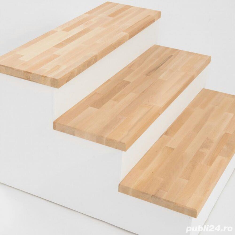 Trepte de lemn