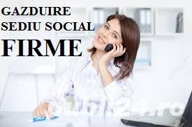 Gazduire sediu social SRL cu infiintare firma judetul Valcea