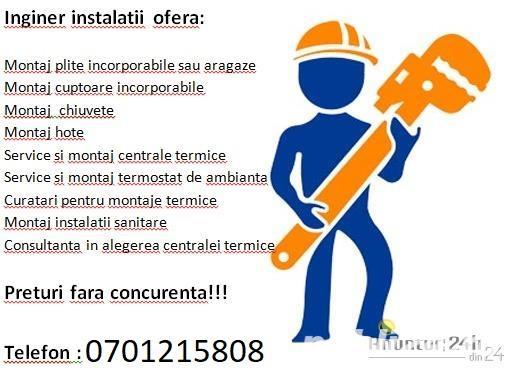 Instalator sanitar iasi 0701215808