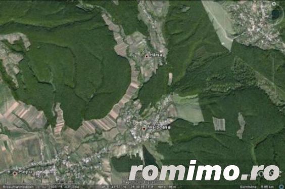 Vand 25 Ha si 35 Ha PADURE FOIOASE (alaturate) in zona Plopu, Prahova