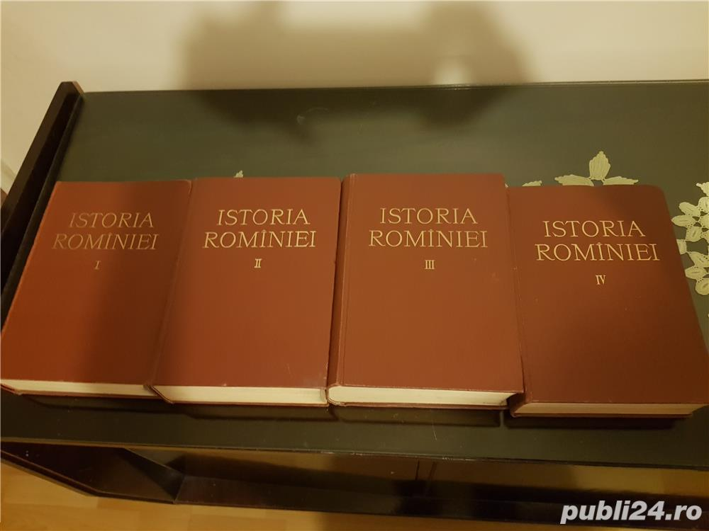 Istoria Romaniei 4 volume