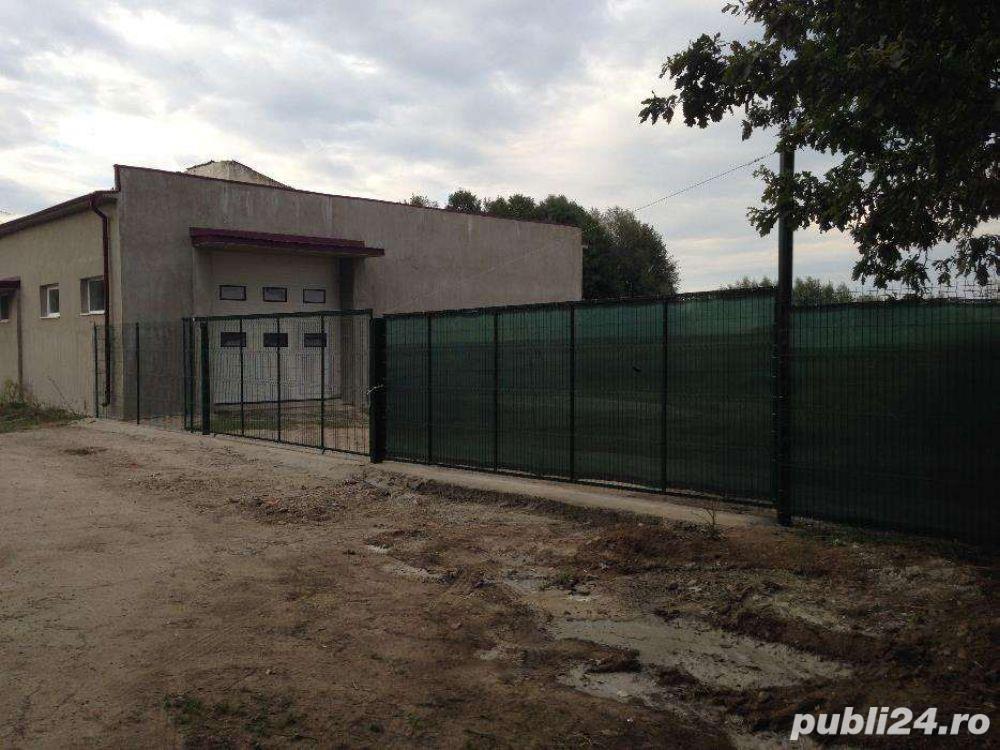 Hala industriala 740m utili constructie si 2500m teren Radauti (SV)