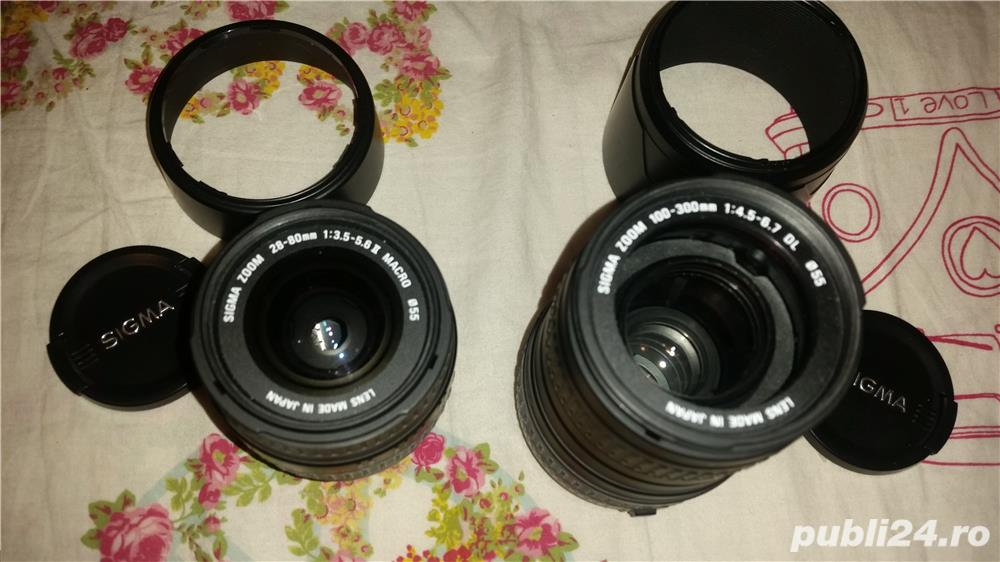 2 obiective Sigma ptr. Canon in stare perfecta