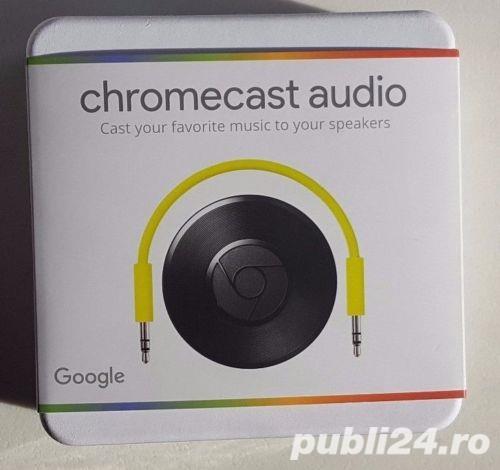 Google Chromecast Audio Hdmi Streaming Media Player