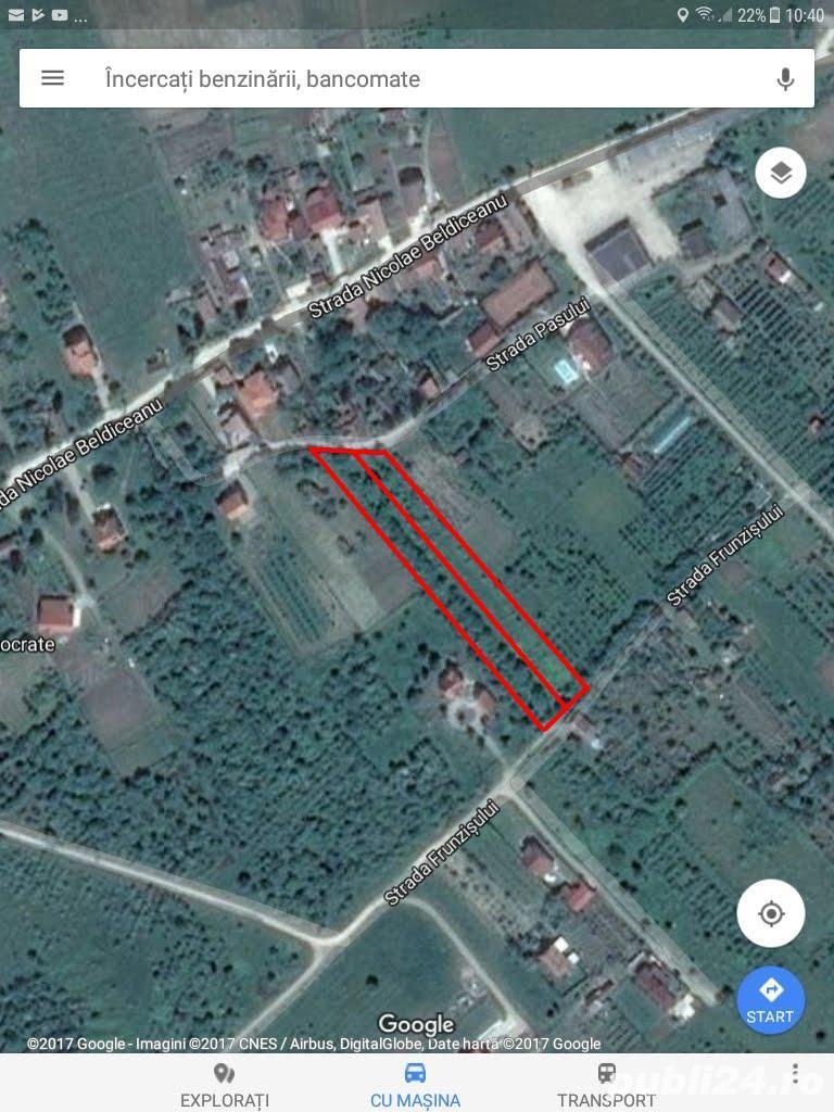 Vand parcele teren intravilan zona Izvorului