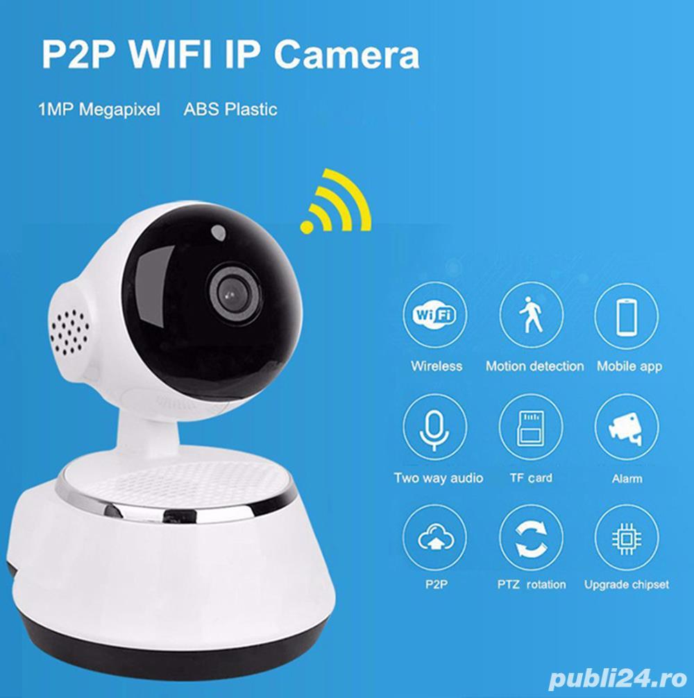 Baby Monitor HD IP Camera 360 grade Night Vision Zoom acces Android IOS  Windows