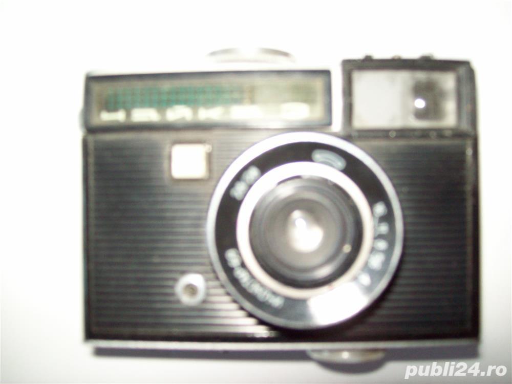 Vand aparat de fotografiat, vechi, rusesc, in stare de functionare, cu film de tip vechi