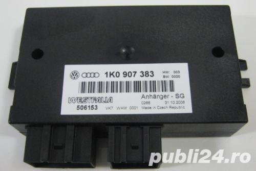 Modul carlig remorcare VW Passat B6 cod-1K0907383