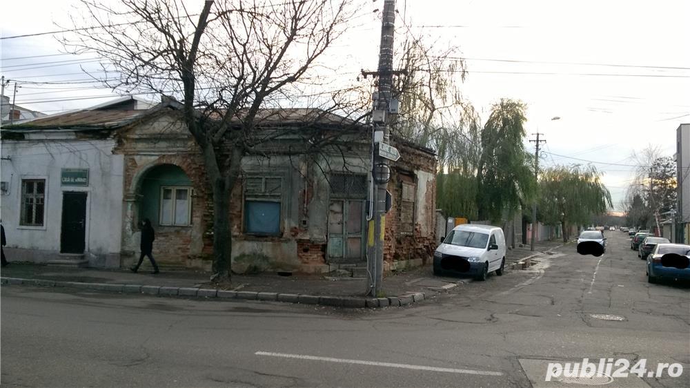 Casa / Teren de vanzare, Zona centrala a orasului Buzau