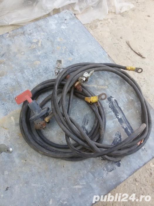 Vand cabluri guvernare + cabluri alimentare cu intrerupator general