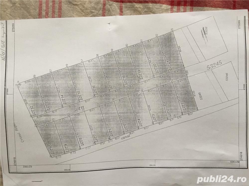 Vanzare  terenuri constructii  800 mp Bihor, Osorhei  - 12000 EURO
