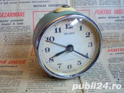 Ceas de masa desteptator rusesc SEVANI