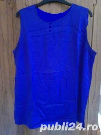 Top / Maieu / Tricou albastru-electric, satinat, marimi S, M, L , stare impecabila, ca nou, este foa