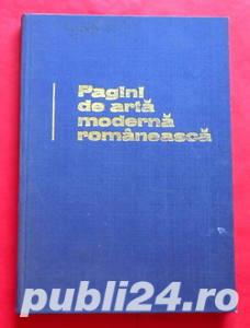 Pagini de arta moderna romaneasca, Radu Bogdan, 1974