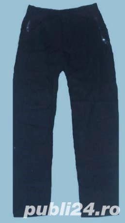 Pantaloni /Colanti ,elastici si captusiti pe interior, culoare gri inchis, S, M, L