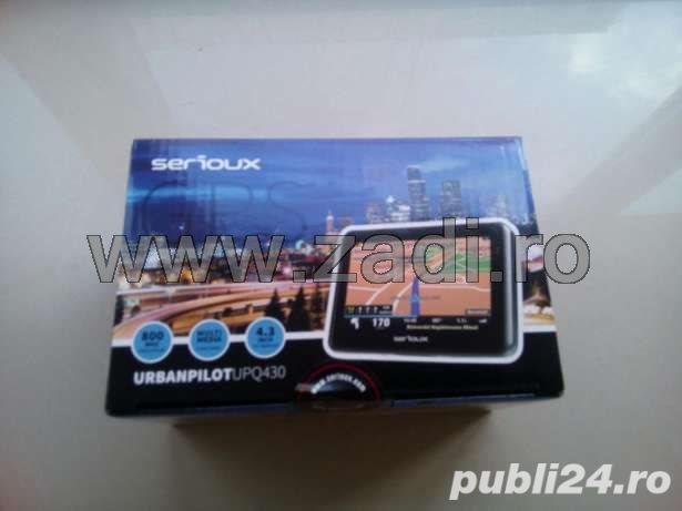 """GPS Serioux-ecran 4.3""""-garantie 3 ani / iGO Primo - harti toata europa"""
