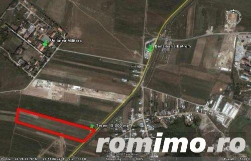 Vand teren constructii industriale / comerciale – Bucuresti – Ilfov , soseaua de centura Chitila