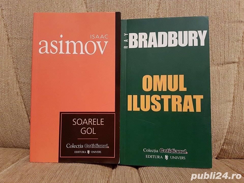 SOARELE GOL/OMUL ILUSTRAT-ISAAC ASIMOV/RAY BRADBURY (2 VOL)