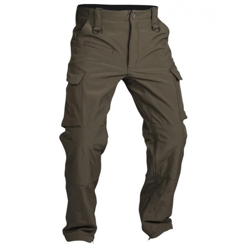 Pantaloni Militari Trilaminati Softhshell Oliv