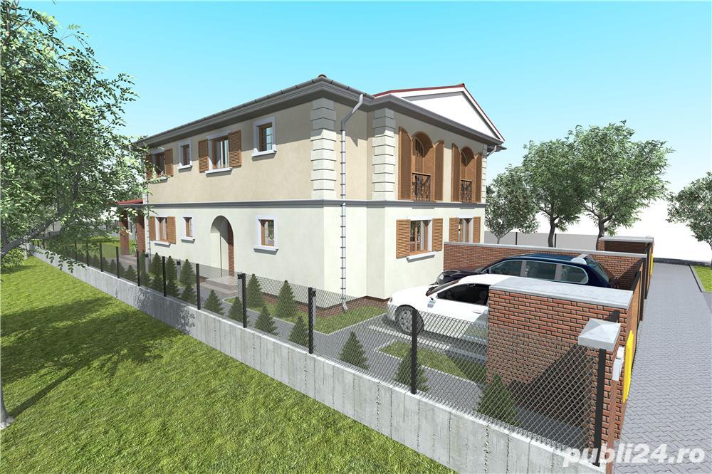 1/2 duplex la cheie proiect deosebit strada Stefan Luchian